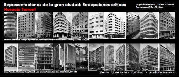 Charla horacio torrent arquitectura concepci n for Requisitos para estudiar arquitectura