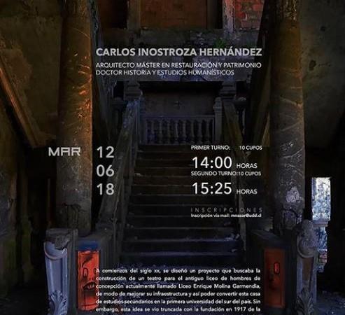 Conversación en Obra Teatro Enrique Molina