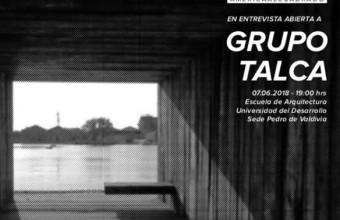 Entrevista-conversación a GrupoTalca por Giuliano Pastorelli + A2
