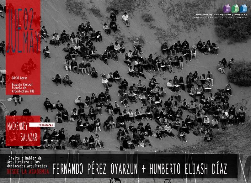 Conversación con Humberto Eliash y Fernando Pérez.