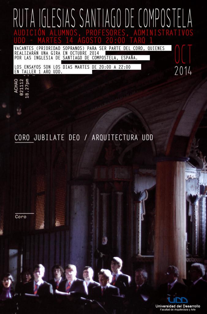 Afiche Audición CORO