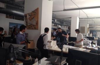 ARQUDD en oficina de Daniel Libeskind