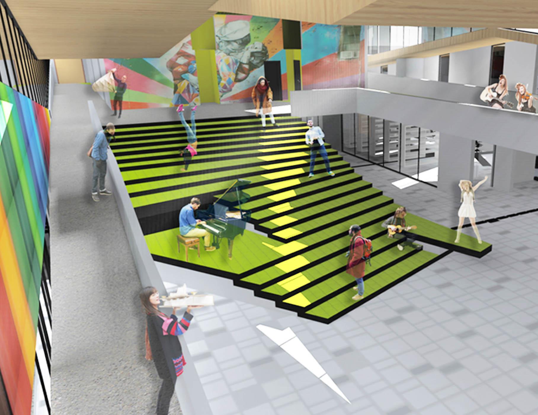 Arquitecto y ex alumno arqudd participa en la propuesta for Arquitectura para la educacion pdf