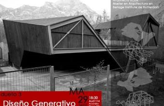Dueto 3: Diseño Generativo / Martes 29 desde las 18:30 aud 114