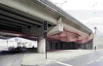 Colaboración de Facultad de Arquitectura UDD en concurso de arte público