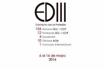 ACTIVIDAD DETONANTE III 2016 - CONTACTO CON LA PROFESIÓN