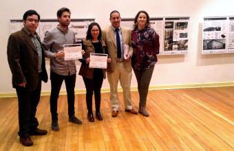 Nicolás Fernández Ex alumno ARQUDD obtiene Mención honrosa en Concurso CICOP Chile 2015