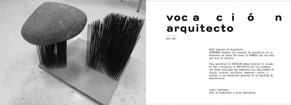 Beca vocaci n de arquitecto arquitectura santiago for Donde puedo estudiar arquitectura