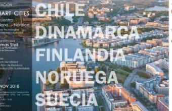 SMART CITIES - Encuentro Chileno - Nórdico - Nuevas tecnologías para mejores ciudades.
