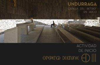 Charla - Experiencia Detonante III 2019 - Arquitecto Cristián Undurraga
