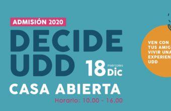 CASA ABIERTA - ADMISIÓN 2020