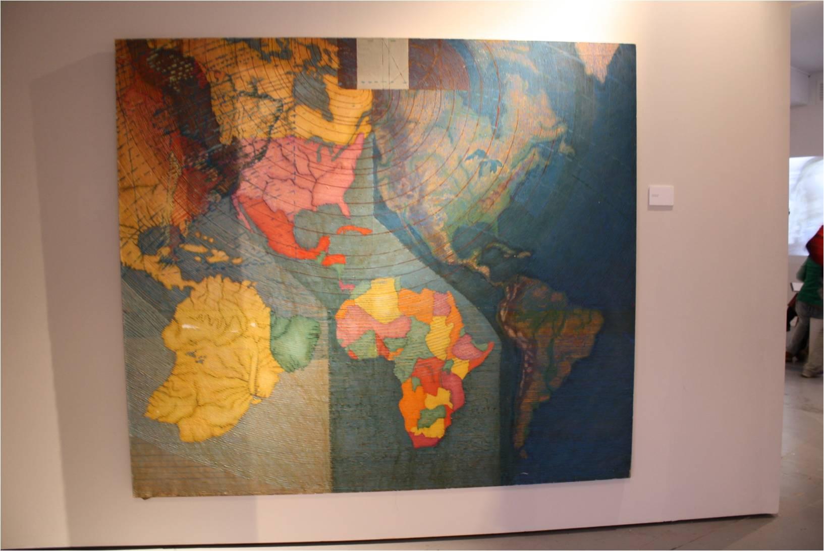 Exposición Juan Downey, Fundación Telefónica.