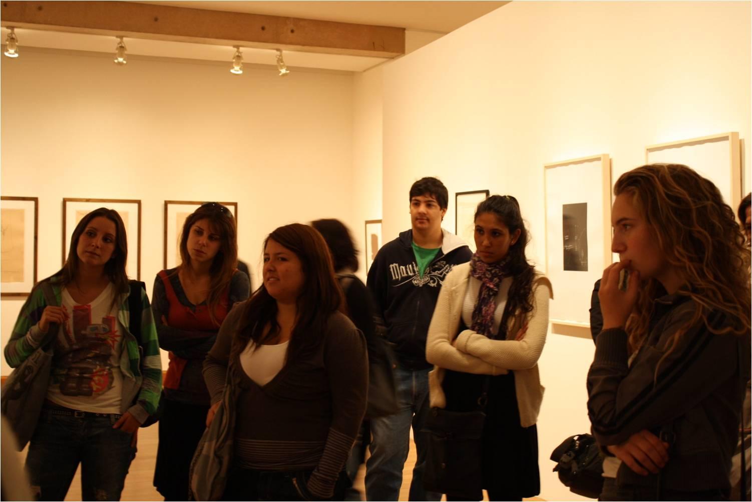 Catalina Lalanne, Victoria Jensen, Pamela Goma, Antonella Castiglinne, Pedro Alvarado y Sofía Vergara.