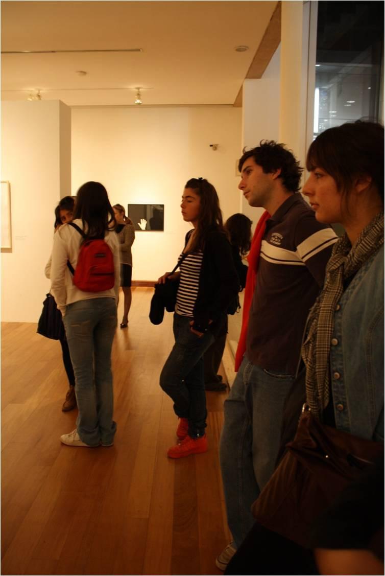 Ignacio Prieto , Lucía Alvarado en exposición Beuys.