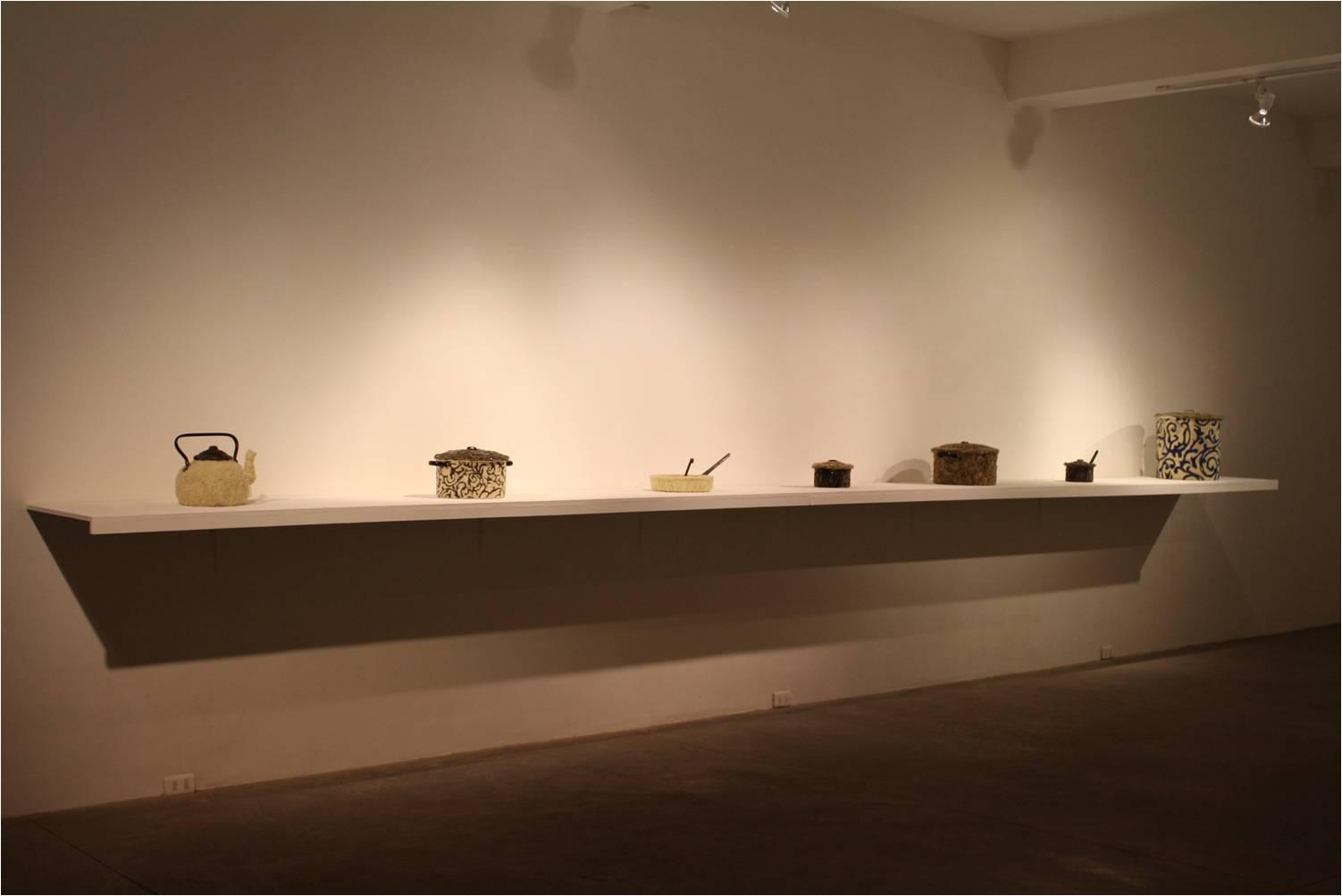 Galería Moro.Obra de Cristián Velasco.