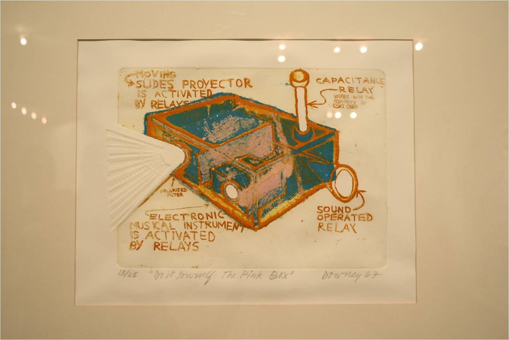 Obra exposición Juan Downy, Fundación Telefónica.