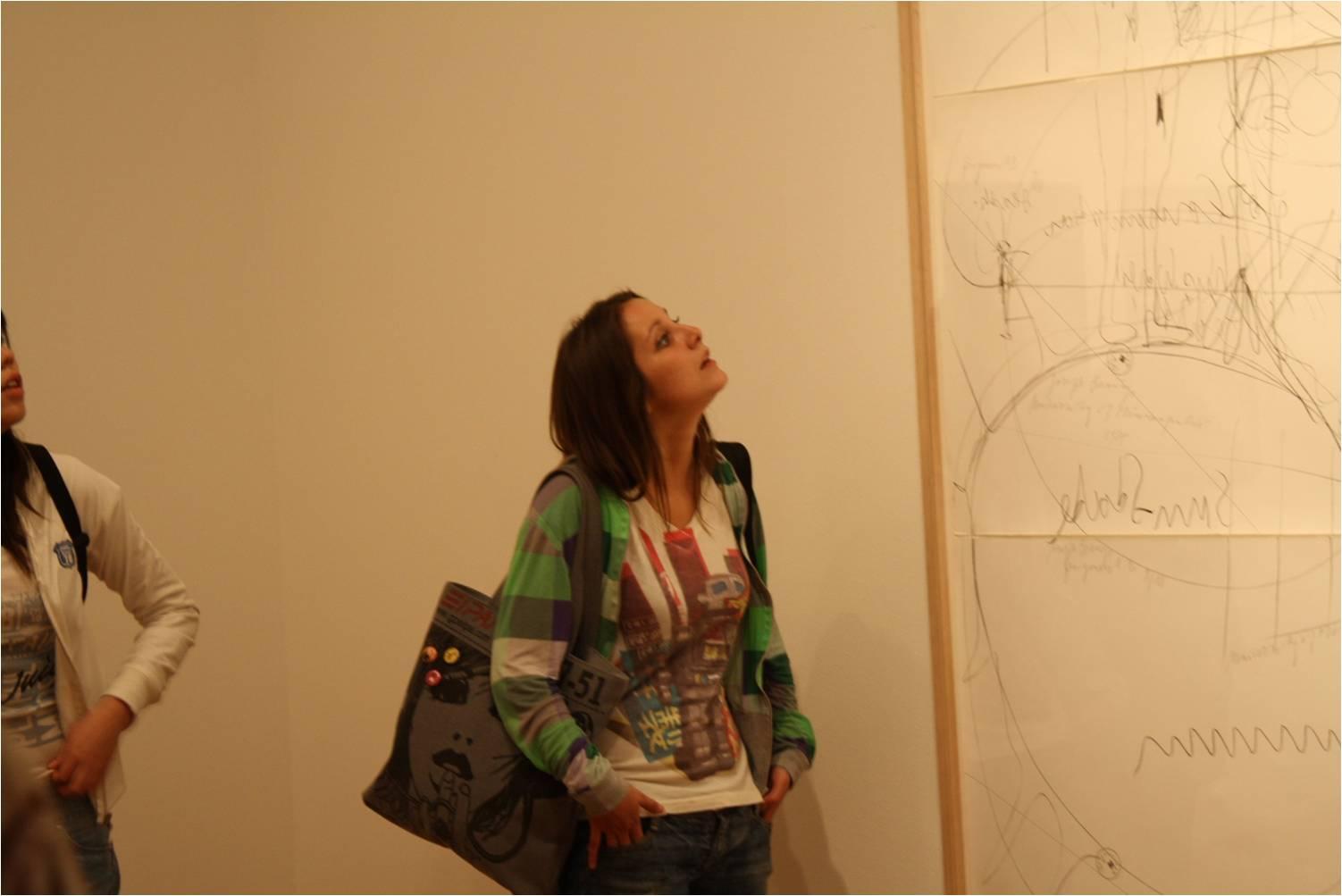 Catalina Lalanne, exposición Juan Downey.