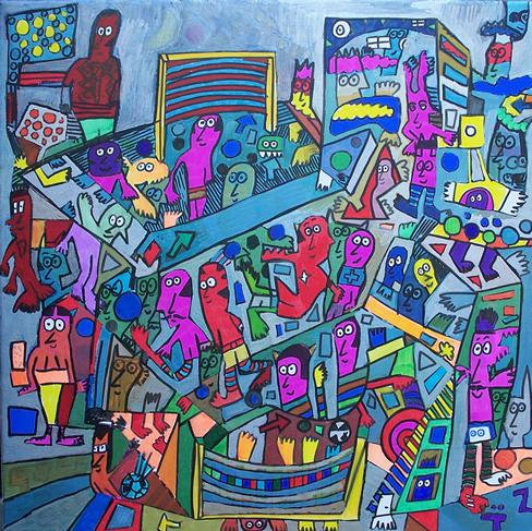 Pintura: ZAMUDIO totoy