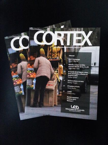 Cortex Revista ArtCCO UDD arte y cultura concemporánea.