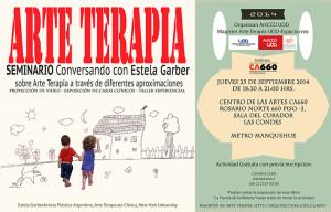 "Seminario de Arte Terapia ""Conversando con Estela Garber"" | MAT UDD-EspacioCrea"