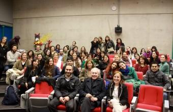 Hector Fiorini y Estela Garber en Seminario Internacional de Arte Terapia | MAT UDD-EspacioCrea