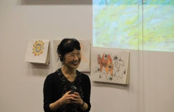 Visita de Ikuko Acosta | Magíster de Arte terapia UDD-Espaciocrea
